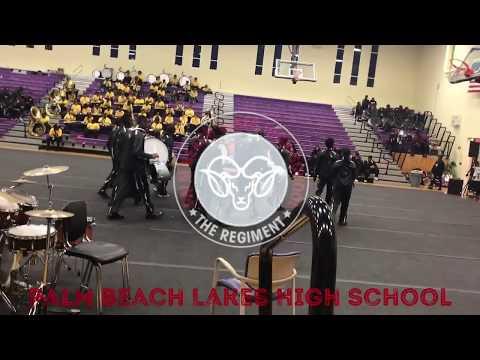 Palm Beach Lakes High School Drumline @ EWC 2018 Stick Control Competition