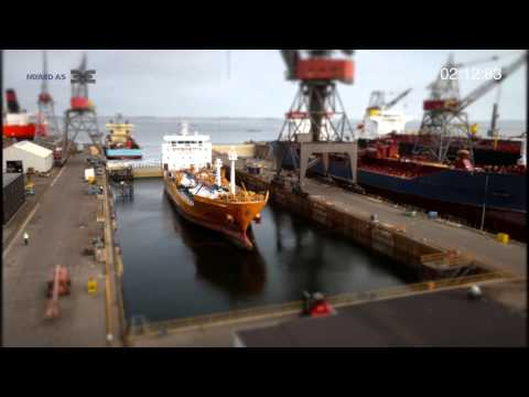FAYARD DRY DOCKING VIDEO