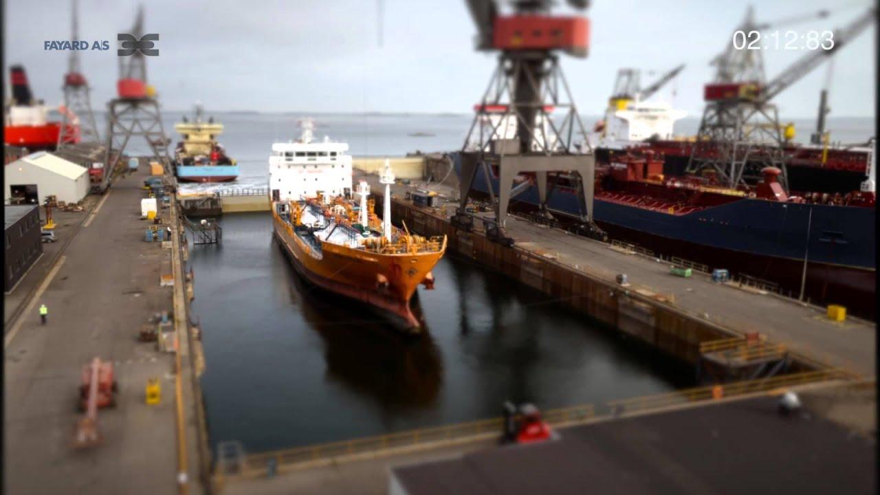Fayard Dry Docking Video Youtube