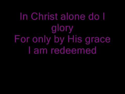 Brian Littrell-In Christ Alone with lyrics