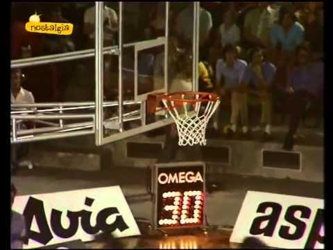 1973 Eurobasket Italy vs Spain Preliminary Round