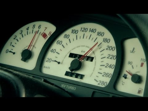Opel Calibra 16V Turbo 4x4 - acceleration, drive by and pure sound | Frohlix Entertainment