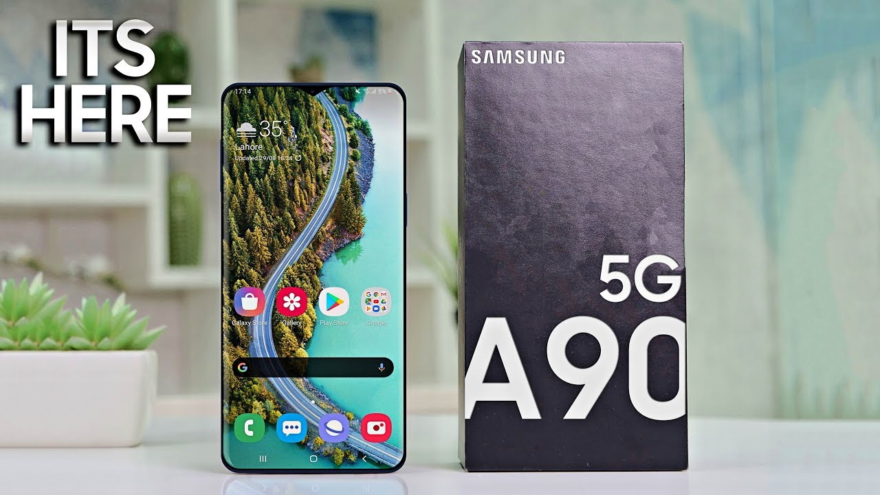 Samsung Galaxy A90 5G - LET'S GO!!! - YouTube