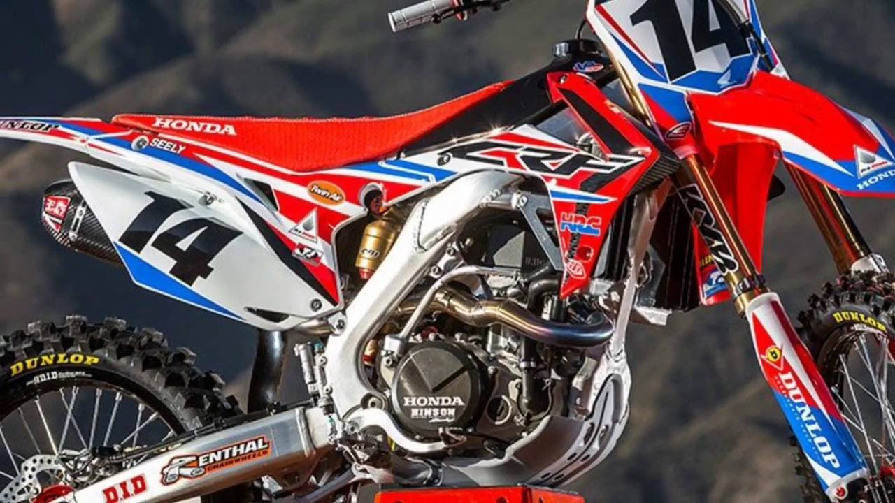 2017 Honda CRF Motocross Supercross Official 4K