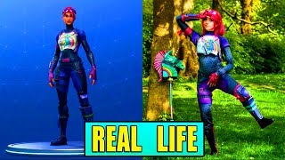 FORTNITE SKINS IN REAL LIFE! (THICC)