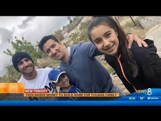Daniella Benitez On CBS, Raises $16,000 to build a house!