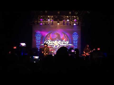 Dokken - Alone Again - 12/14/17 - State Theatre, St. Petersburg, FL