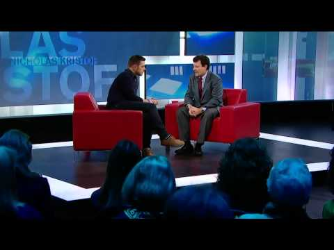 Nicholas Kristof And Sheryl WuDunn On George Stroumboulopoulos Tonight