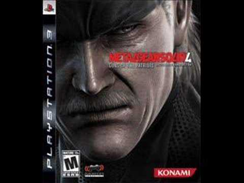 Metal Gear Solid 4 OST Track 20 - Violent Cease Fire