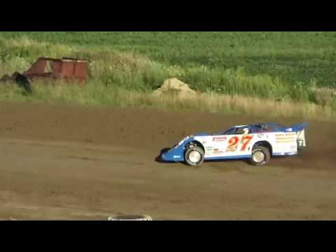 American Ethanol Series Time Trails with Spangler and Rich Bell at I-96 Speedway,  Michigan.