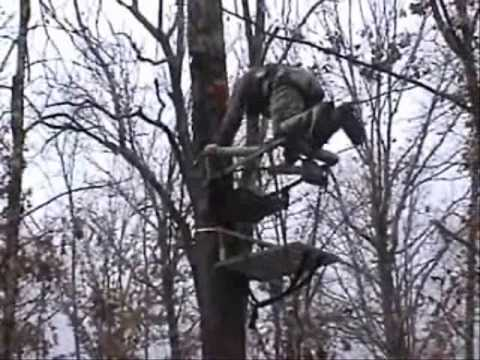 Stabilizer Systems For Tree Stands And Ladders Youtube