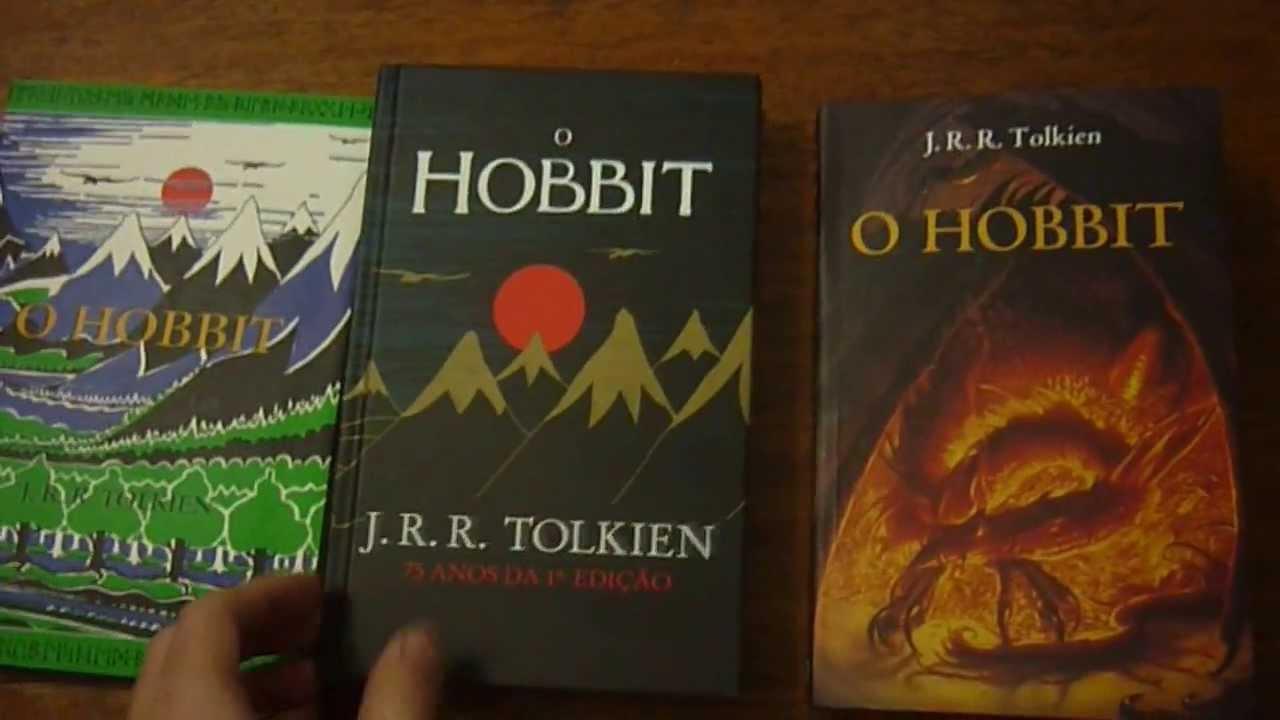 45d00fa3f As edições Brasileiras do Hobbit de J.R.R.Tolkien - YouTube