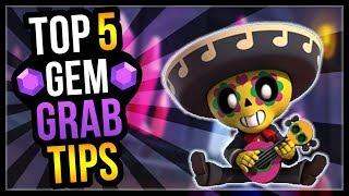 5 Best Gem Grab Tips u0026 5 Best Gem Grab Brawlers! Gem Grab Guide [Brawl Stars]