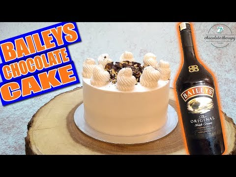 Baileys Chocolate Cake - Easy Irish Cream Cake Recipe