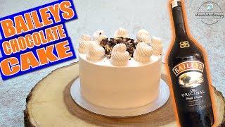 Baileys Chocolate Cake - Easy Irish Cream Cake Recipe