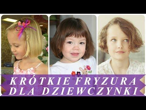 ładne Fryzury Dla Dziewczynek Na Krótkie Włosy 2018 Youtube