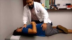 Demo of a Chiropractic Adjustment by Orlando Chiropractor