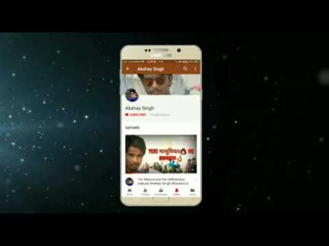 Tu Hi Meri Duniya Jahan Ve || (A.S.B. Creation) Akshay Singh Bhadoria || Whatsapp Status ||
