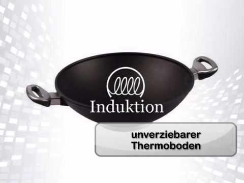 GroBartig Wokpfanne Induktion   Ø 32 Cm Mit 2 Griffen   Harecker.de