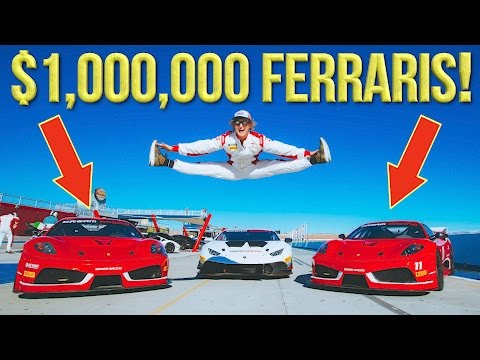 Thumbnail: RACING FERRARIS AT A BACHELOR PARTY!