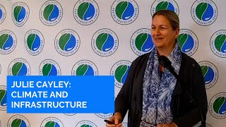 Julie Cayley - Climate Change and Infrastructure