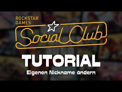 Wie man seinen Namen / Nickname in GTA 5 Online bzw. im SocialClub ändern kann → Tutorial