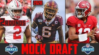 2020 NFL Mock Draft   2 Round NFL Mock Draft 2020