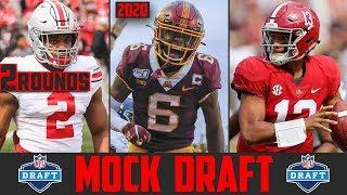 2020 NFL Mock Draft | 2 Round NFL Mock Draft 2020