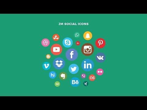 Social Icons Module for Joomla