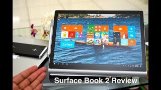 New Surface Book 2 Ten (10) Days Ownership Review, 1TB, 8th Gen i7