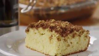 Make-ahead Breakfast Recipe: Overnight Coffee Cake