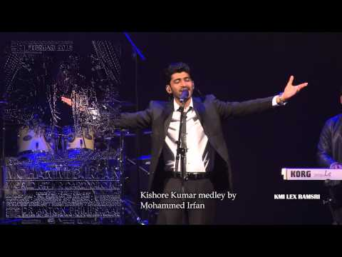 Mohammed Irfan live in holland 2015 - Kishore Kumar Medley.