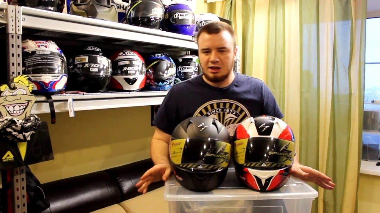 Обзор шлема Shoei после сильного ДТП - YouTube