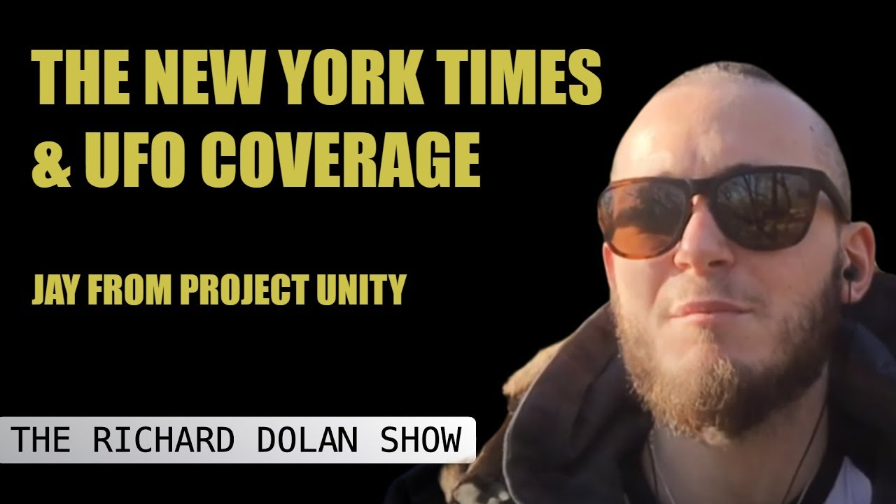 The NEW YORK TIMES & UFO COVERAGE | Richard Dolan Show