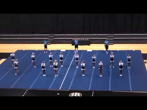 Oak Park High School Cheerleading State 2012