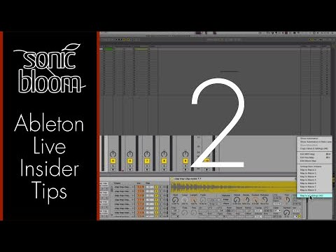 Ableton Live Insider Tips – Options txt Part 2 (Video