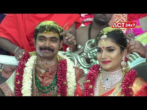 YCP MLA Kakani Govardhan Reddy Daughter Marriage Celebrations @ Nellore Rural || ACT24X7HDNEWS