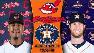 Cleveland Indians vs Houston Astros   ALDS Game 2 Highlights