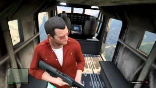 #231【GTA5】米軍の人が操縦している輸送ヘリに乗っちゃった!!