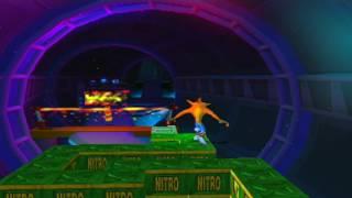Crash Bandicoot: The Wrath of Cortex - Level 25: Cortex Vortex (Crystal/Double Gem)