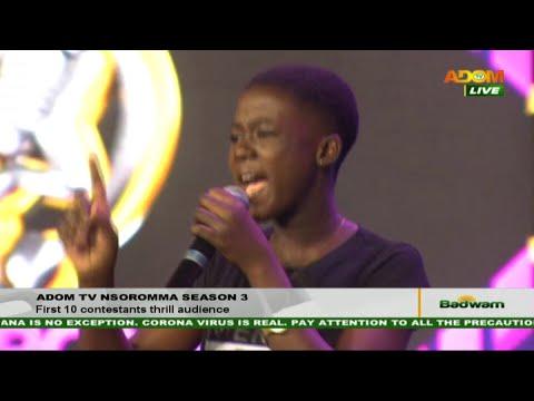 Adom TV Nsoromma Season 3: First 10 contestants thrill audience - Badwam Ahosepe (16-11-20)
