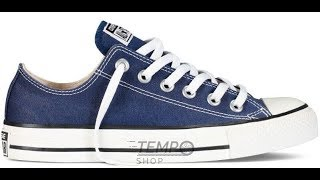 Обзор кед Converse Chuck Taylor All Star Low Blue