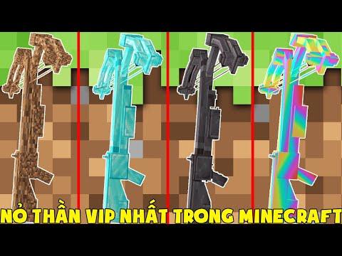 Minecraft, Nhưng Noob Sở Hữu Nỏ Thần Vip Nhất! T Gaming Có Nỏ Thần Cầu Vồng Siêu Vip ??