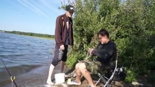 Мы на рыбалке Челябинская обл. За карпом