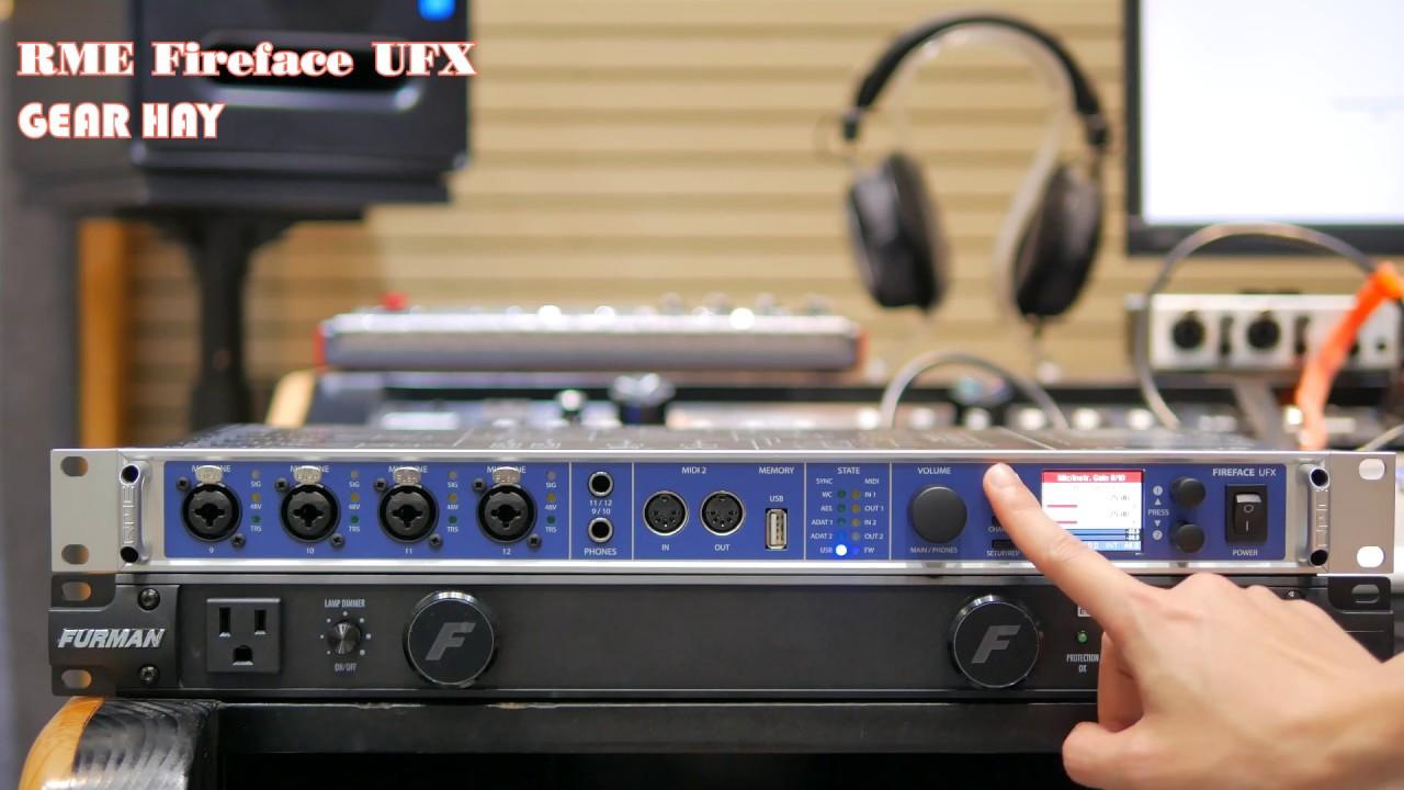 [Giới thiệu] RME UFX – Card Âm Thanh Cao Cấp Nhiều Công Nghệ