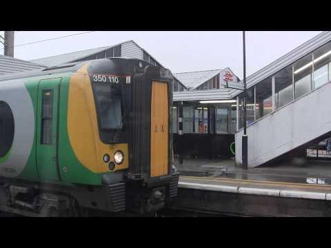 London Midland train - Northampton Station