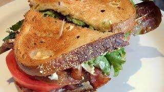 Deli Chicken Club Sandwich Recipe - Melts In Your Mouth