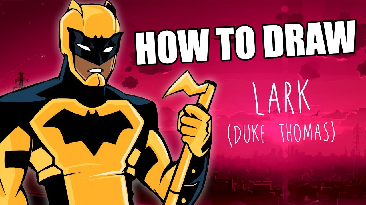 Speed Drawing: How to draw Lark (Duke Thomas) By Terry Alec