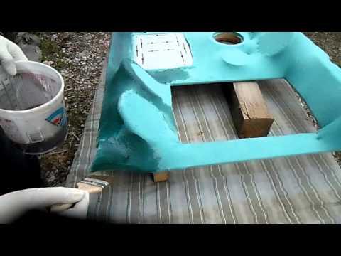 Skull Crusher Project Custom Headliner Fiberglass Video Mike's Accessories 2012 Arctic Cat Wildcat