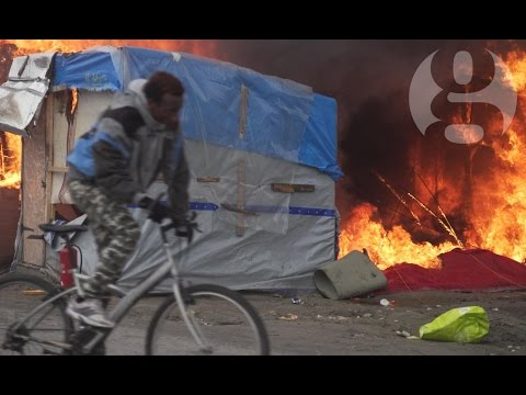 Where next? The last days of the Calais refugee camp